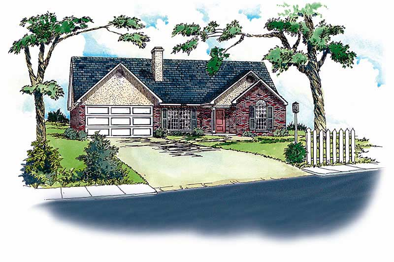 Ranch House Plans Home Design Rg1211 1748