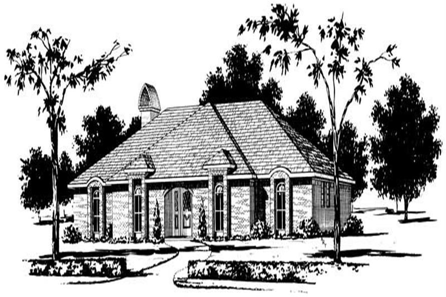Main image for house plan # 1857