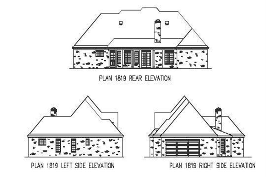 Home Plan Aux Image of this 3-Bedroom,1882 Sq Ft Plan -164-1095