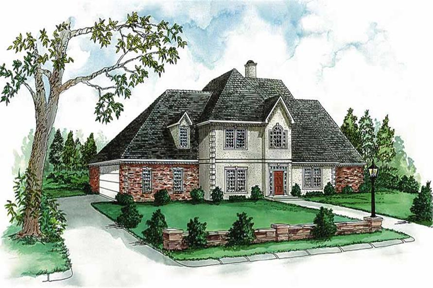Main image for house plan # 1832