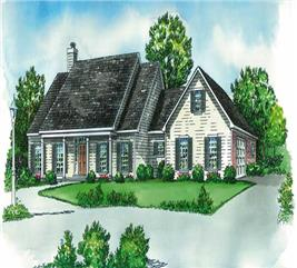 House Plan #164-1105