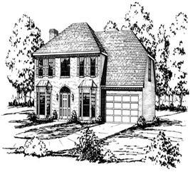 House Plan #164-1113
