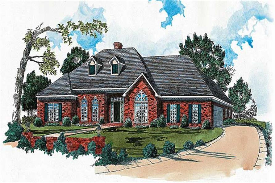 Main image for european house plan # 1892