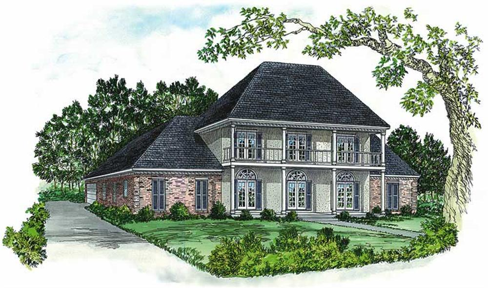 Main image for Traditional house plans # 1908