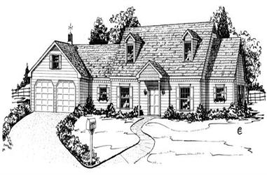 4-Bedroom, 2426 Sq Ft Contemporary House Plan - 164-1139 - Front Exterior
