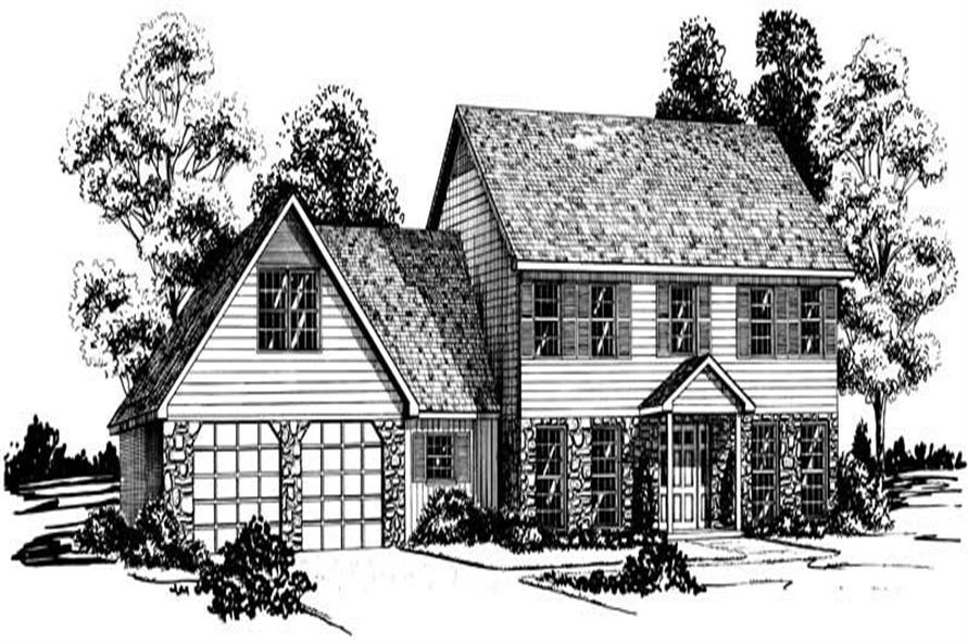 Main image for Country house plan # 1869