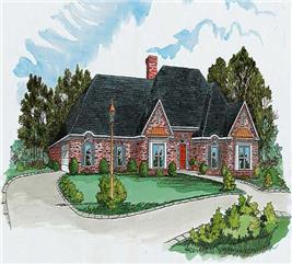 House Plan #164-1147