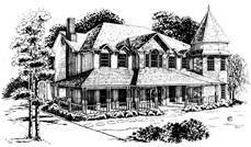 Main image for Victorian home plan # 1877