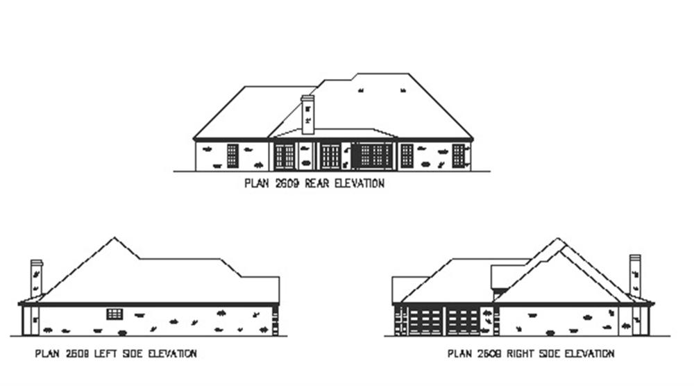 164-1156 house plan elevations