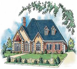 House Plan #164-1162