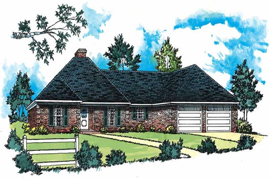 Main image for traditional houseplans # 1788