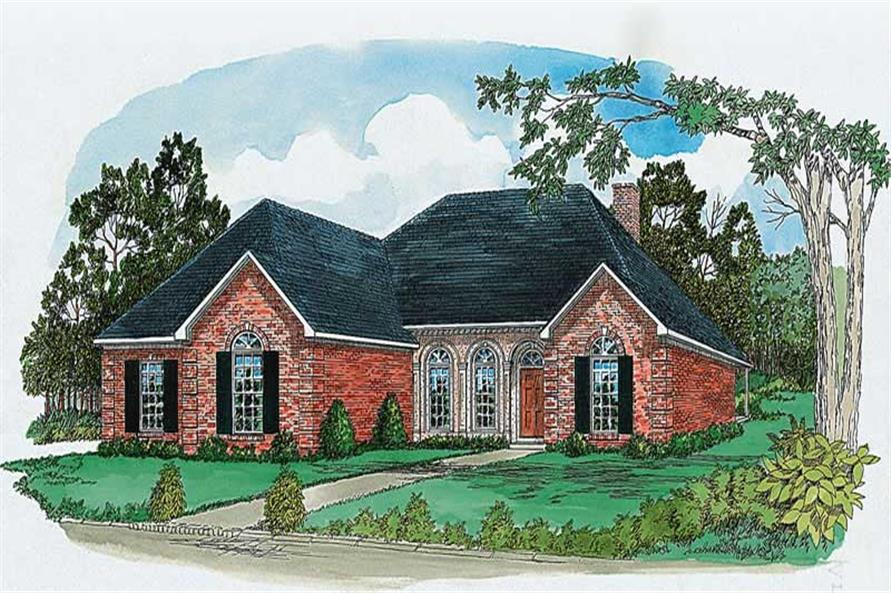 Main image for house plan # 1790
