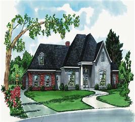 House Plan #164-1171