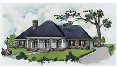 Main image for home plan # 1803