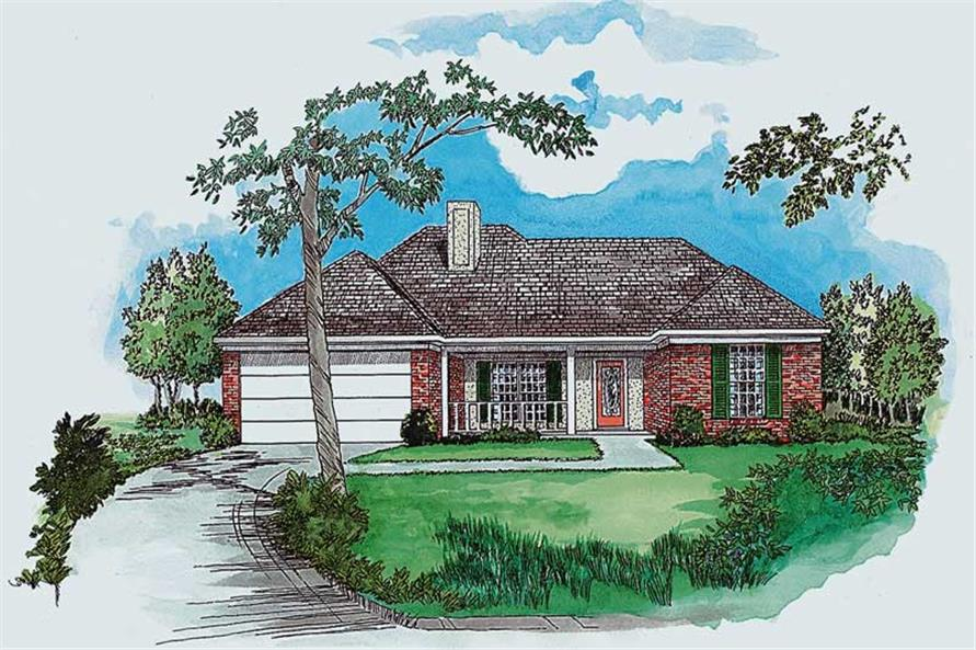 Main image for Country houseplans # 1750