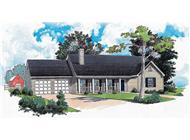 Main image for Country house plans # 1752