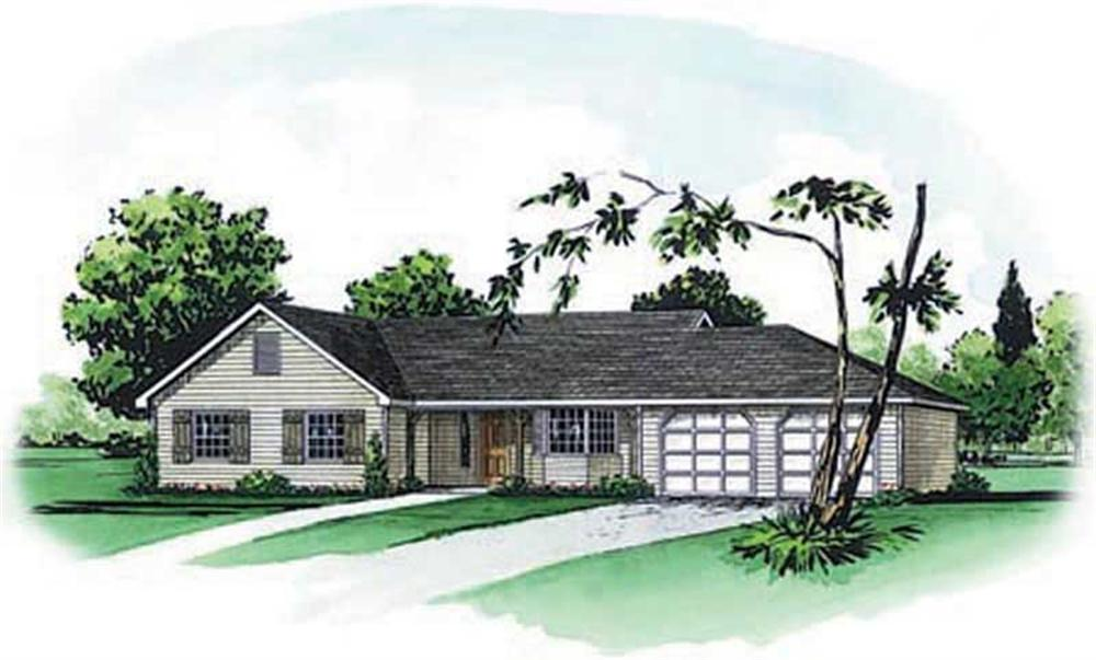 Main image for Traditional homeplans # 1754