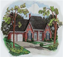 House Plan #164-1206
