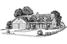 Main image for Traditional house plan # 1765