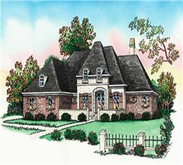 House Plan #164-1238