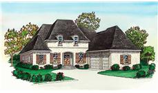 French Home Design color rendering.