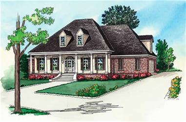 Main image for Southern house plan # 10357