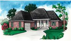 Main image for Traditional house plans # 10354