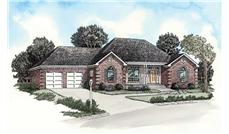 Main image for traditional houseplans # 9160