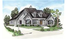 Main image for house plan # 9172
