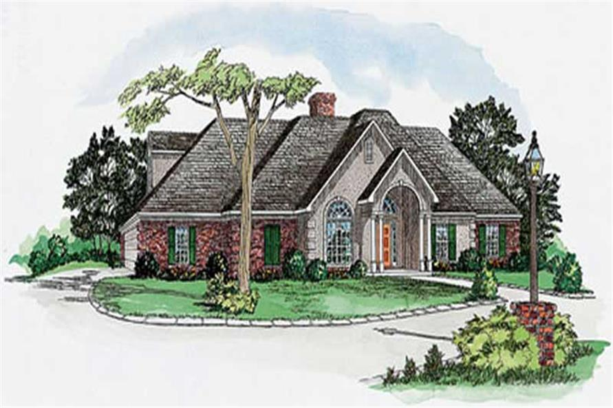 Main image for house plan # 9178