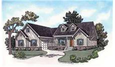 Main image for Traditional houseplans # 9166