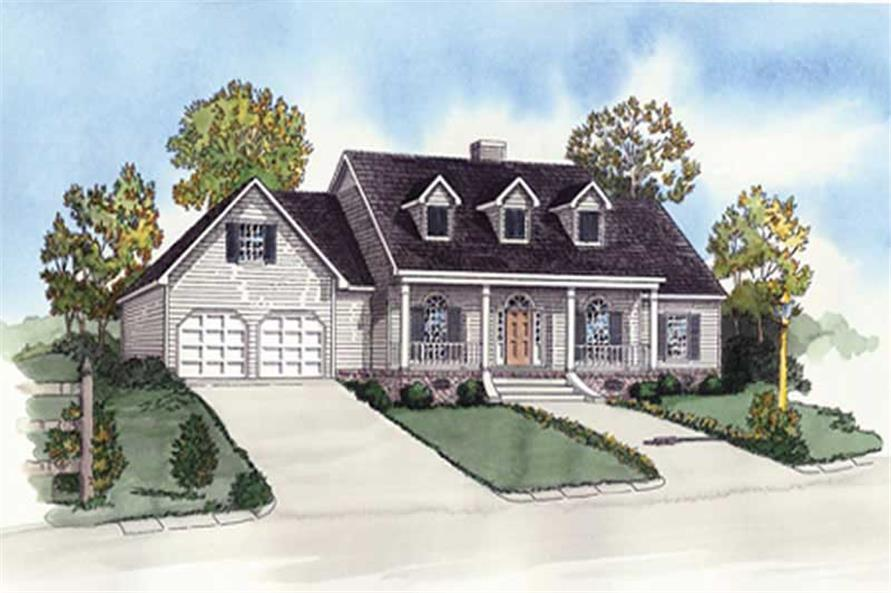 Main image for southern houseplans # 10242