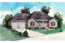 Main image for traditional house plan # 10231