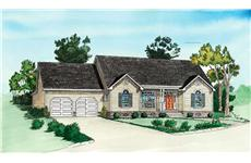 Main image for traditional house plan # 10232