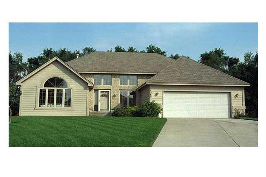 Home Exterior Photograph of this 4-Bedroom,2297 Sq Ft Plan -2297