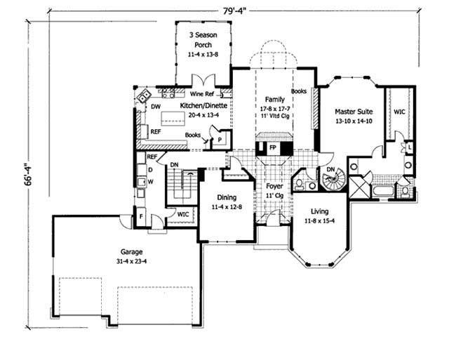 European Home Plans Home Design Cls 3302