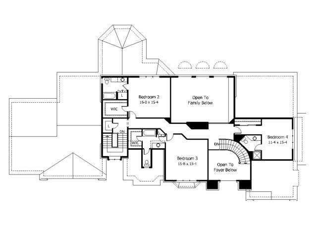 Luxury house plans home design cls 5000 for Collection master cls