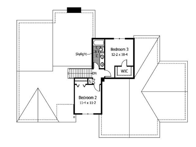 2200 Square Feet Heated House Plans