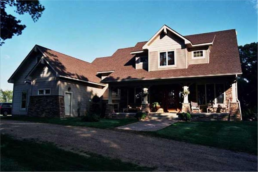 Color photo of Country Home Plans CLS-2915.