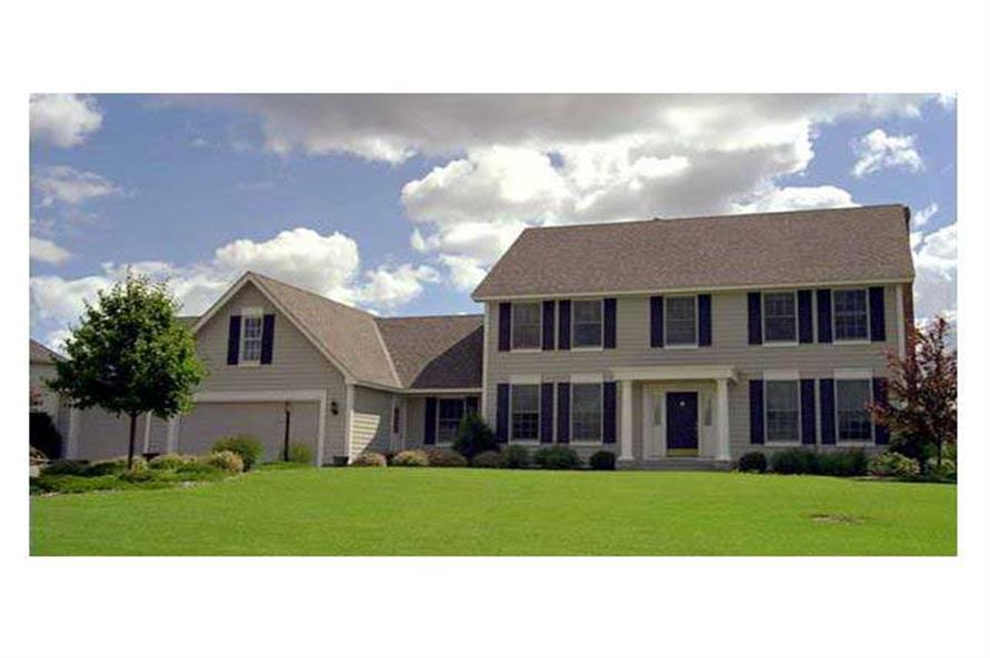 Home Exterior Photograph of this 4-Bedroom,2535 Sq Ft Plan -165-1021
