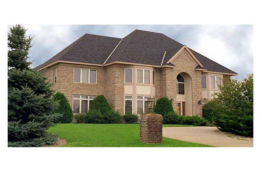 Home Exterior Photograph of this 5-Bedroom,3673 Sq Ft Plan -3673