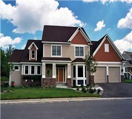 House Plan #165-1073