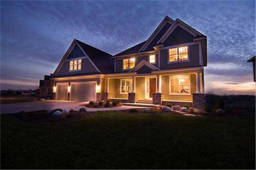 Home Exterior Photograph of this 3-Bedroom,3253 Sq Ft Plan -165-1074