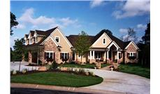 Luxury Houseplans CLS-7500 front elevation photo.