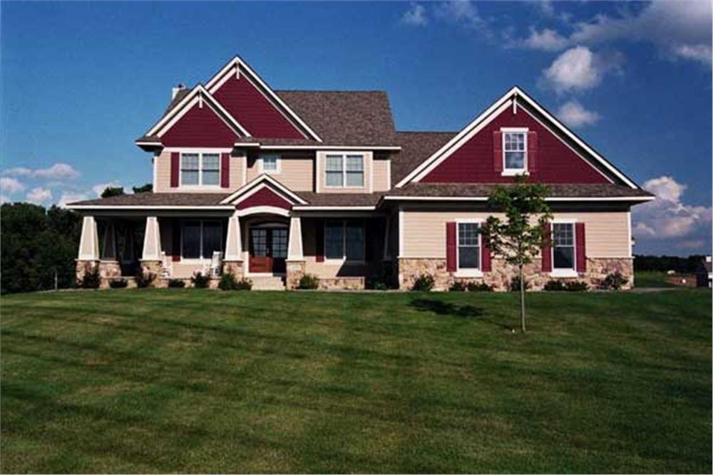 Color photo of Country House Plans CLS-3218.
