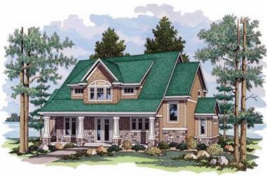 2-Bedroom, 3006 Sq Ft Ranch Home Plan - 165-1091 - Main Exterior