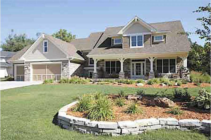 4-Bedroom, 2982 Sq Ft Country Home - Plan #165-1094 - Main Exterior