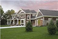 Front elevation of country home plans CLS-3212.