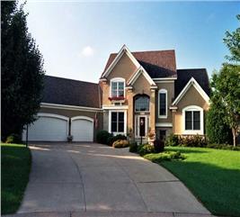 House Plan #165-1110