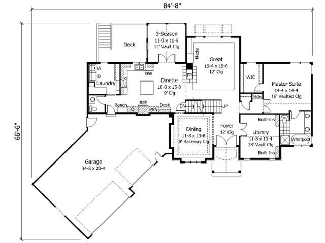 Country house plans home design cls 2400 for Collection master cls